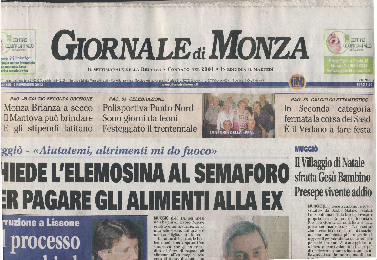 rassegna stampa novembre 2012