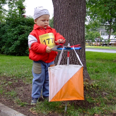 bambino orienteering