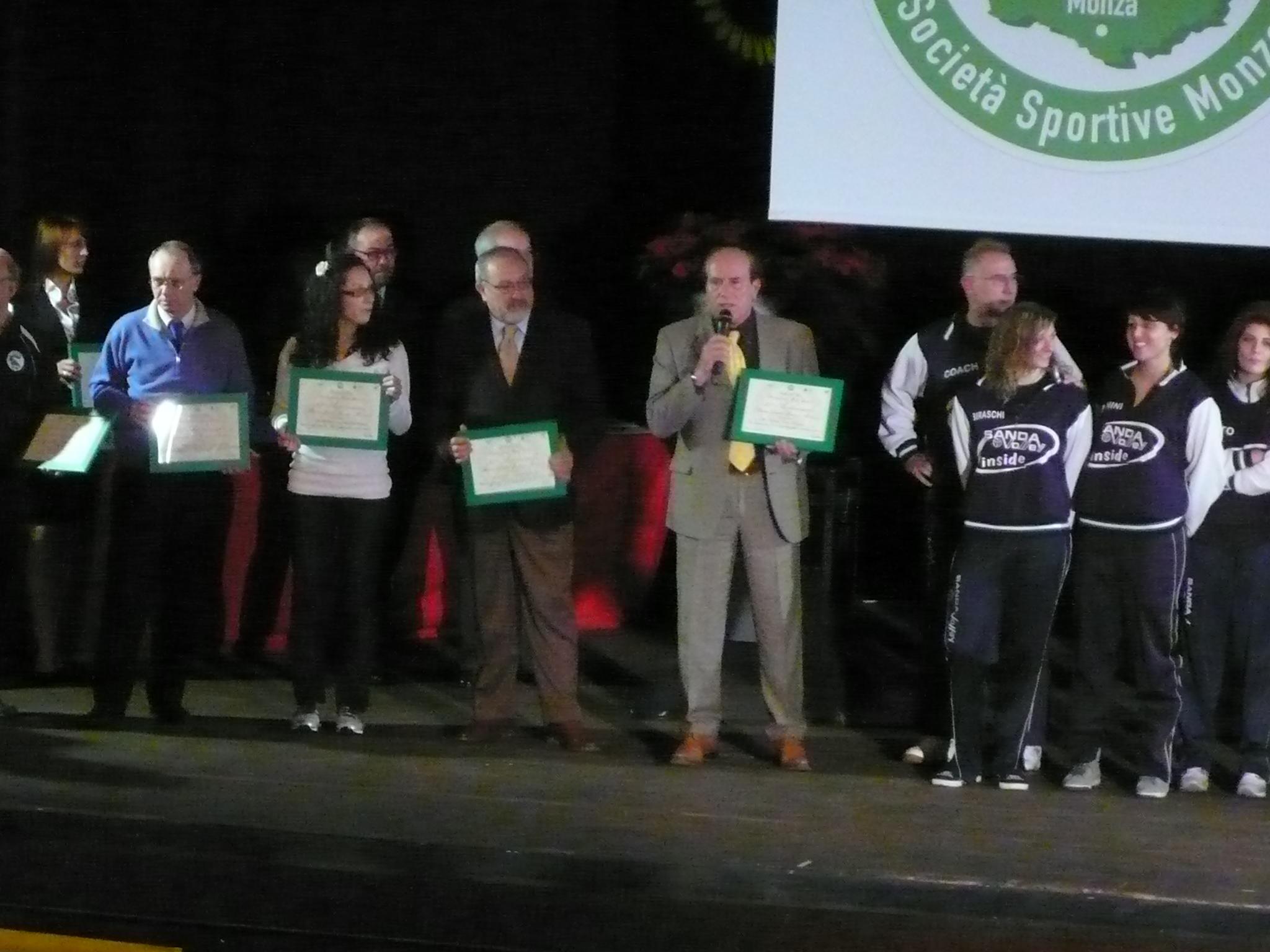 Premiazione Amelio USSMB 2011