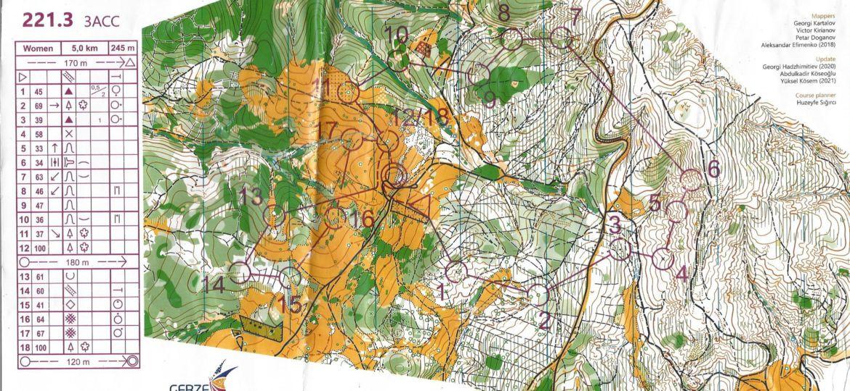 Mappa Staffetta